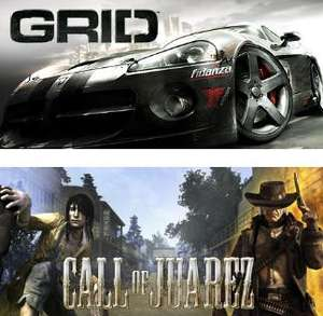 Grid  + Call of Juarez sur PC (Dématérialisés - Steam)