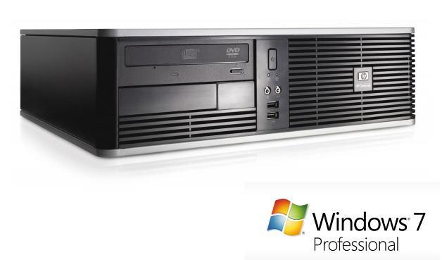 PC de bureau HP DC5800 SFF - Intel Pentium Dual Core E5200 2.50GHz, 4Go RAM, 160Go HDD (reconditionné)