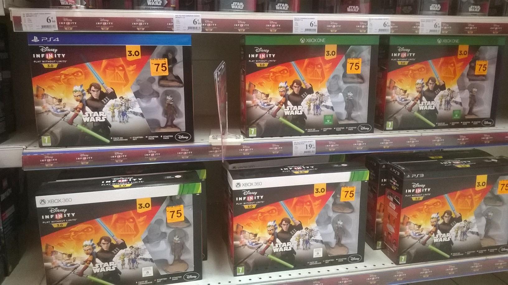 Pack de démarrage Disney Infinity 3.0 - Star Wars sur PS4 / Xbox One / PS3 / Xbox 360