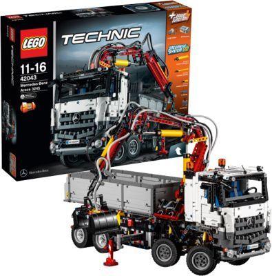Lego Technic Mercedes-Benz Arocs N° 42043