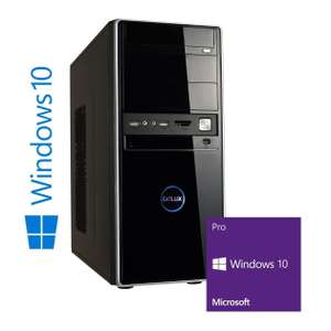 PC de bureau Memory PC - i3 6100,  RAM 8Go (2x4Go), SSD 128Go, Windows 10 Pro 64-bit