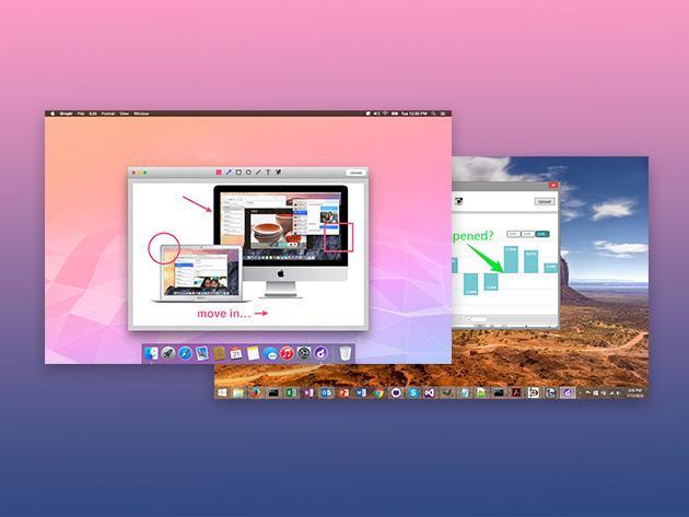 Abonnement à vie à Droplr Pro sur Mac, Windows, iOS, Android