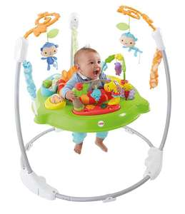 Trotteur Fisher-Price Jumperoo Jungle Sons Lumières