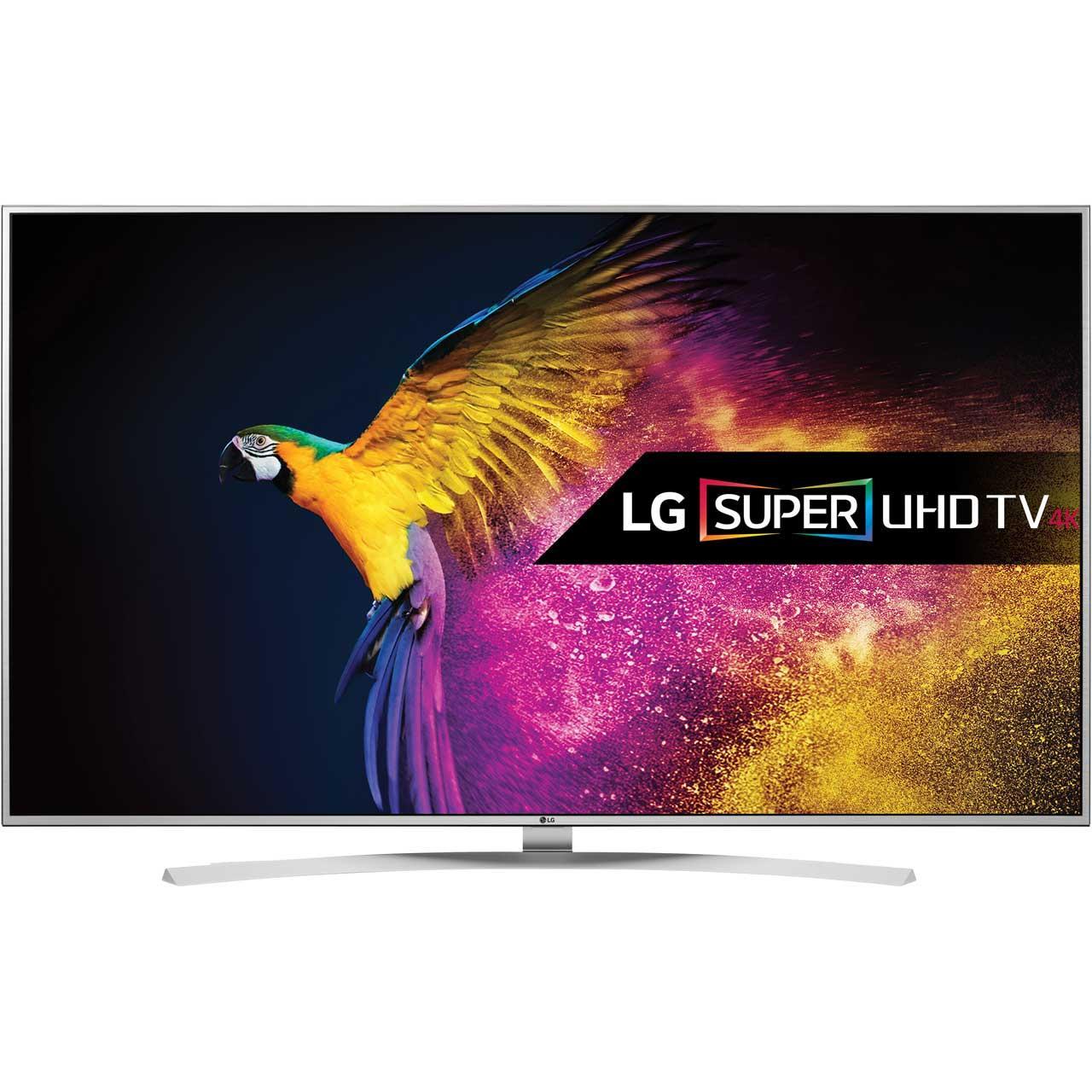 """TV 55"""" LG 55UH850V 4K, Smart TV, HDR10, Dalle 10 bits, Dolby Vision, Quantum Display, 3D (Avec ODR de 224€)"""