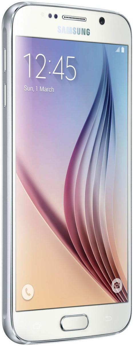 "Smartphone 5.1"" Samsung Galaxy S6 - 64Go - Blanc"