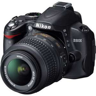 Reflex Nikon D3000 + Objectif 18-55