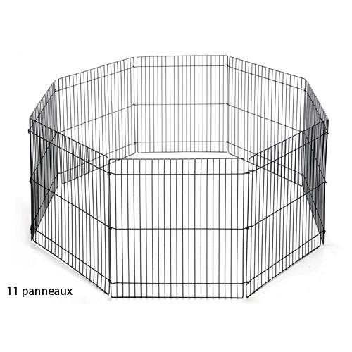 Enclos furet/chiot de 11 panneaux Play Pen Marshall