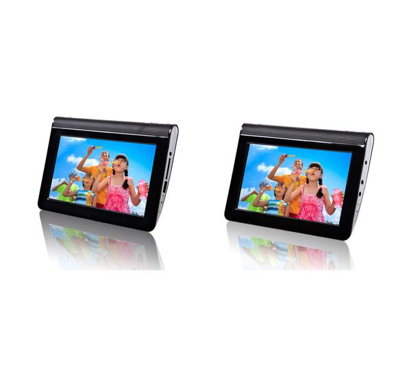 """Lecteur portable double écran 7"""" PMP701T"""