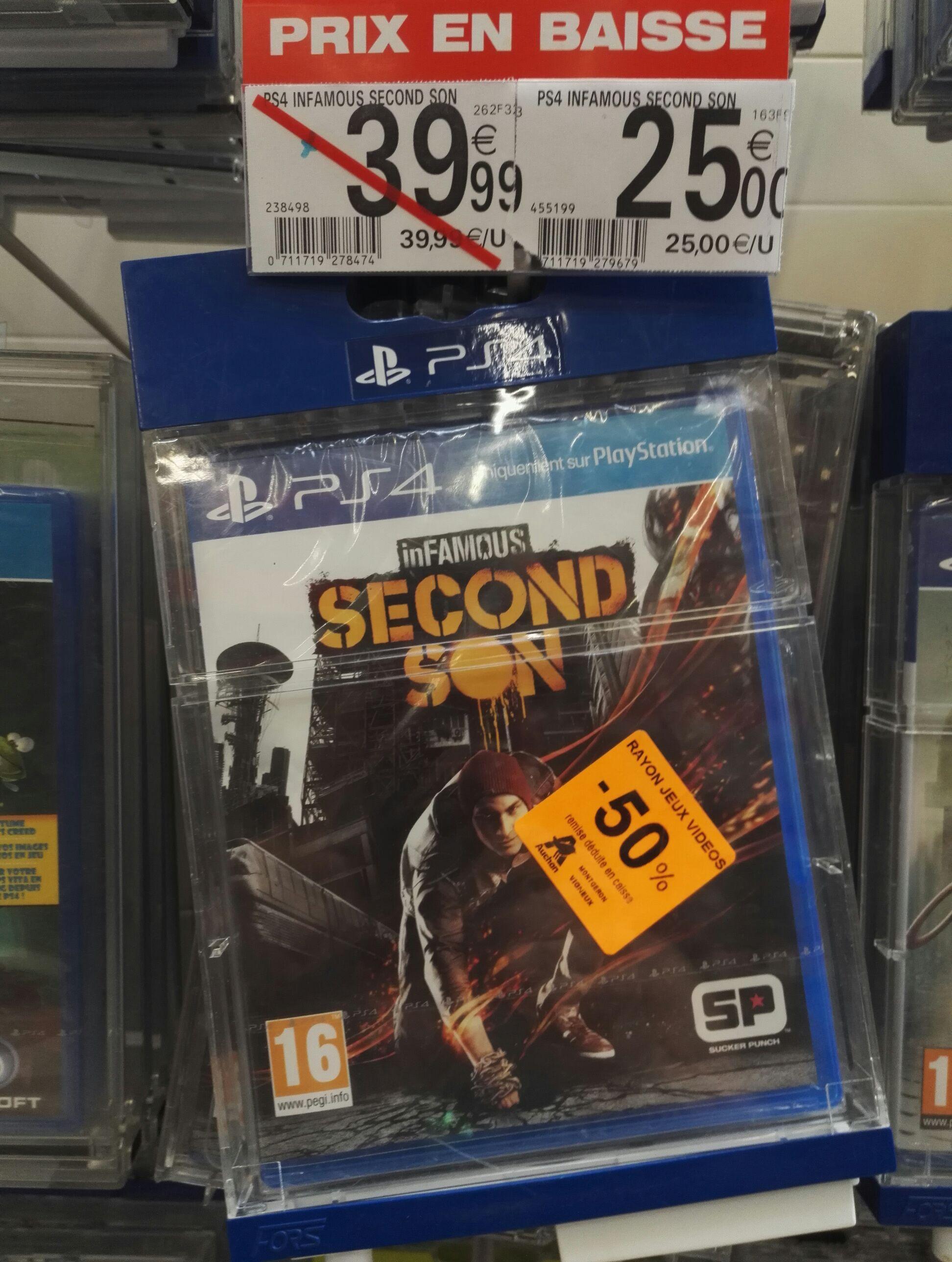 inFamous Second Son sur PS4