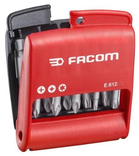 Jeu de 10 Embouts longs Facom E.612PG - 50mm + Etui