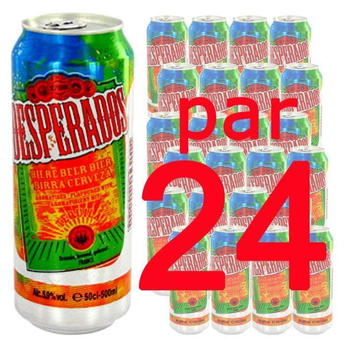 Pack de Canettes de Bière Desperados - 24 x 50cl