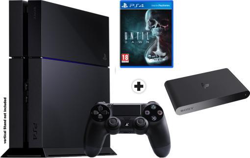 20% de remise immédiate sur toutes les consoles PS4 - Ex: PS4 500Go + Until Dawn + Playstation TV