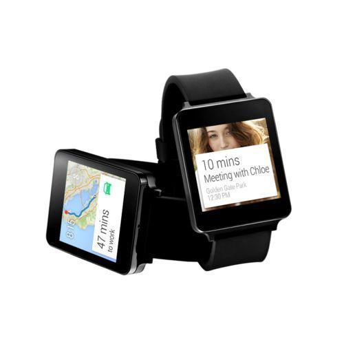 Montre connectée LG G Watch - Noir