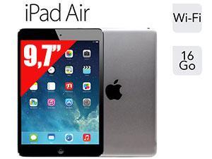 """Tablette 9.7"""" Apple iPad Air Retina - 16 Go, Gris Sidéral"""