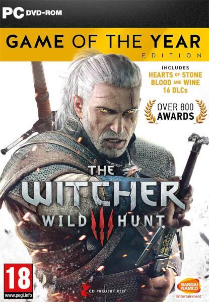 [Précommande] The Witcher 3 GOTY sur PS4 / Xbox One à 41.65€ et sur PC (en anglais)