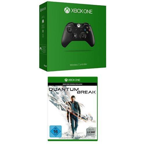 Manette sans fil pour Xbox One / PC (Prise Jack) + Quantum Break + Alan Wake sur Xbox One (Dématérialisé)