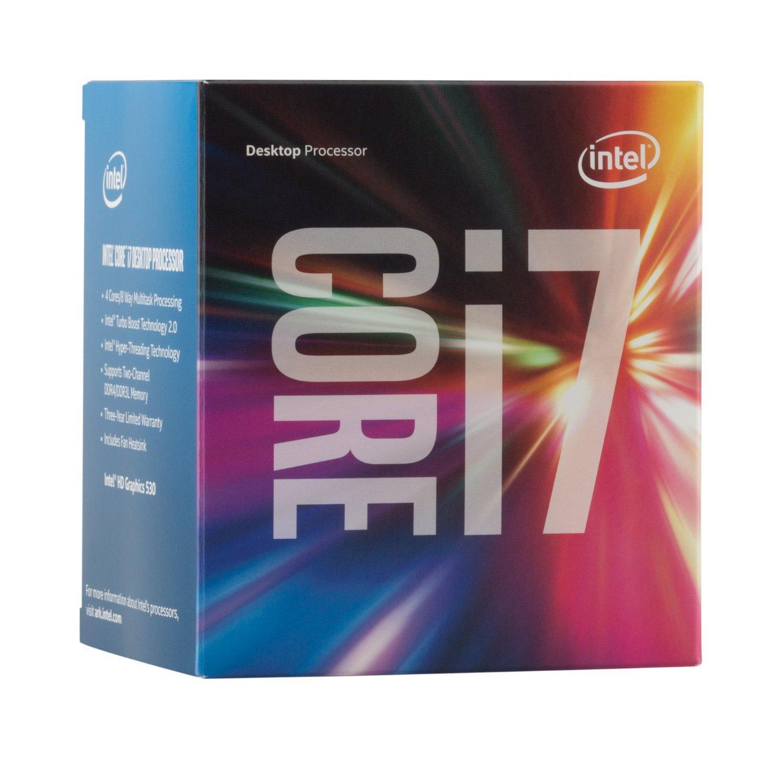 Processeur Intel Core i7 6700 3.4GHz (Turbo Boost 4GHz) - Skylake