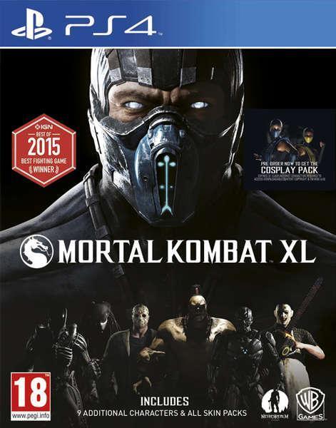 Mortal Kombat XL - Edition complète sur PS4