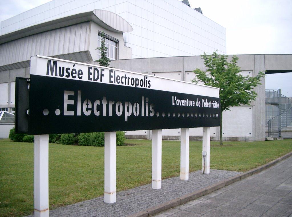 Entrée gratuite au Musée Electropolis