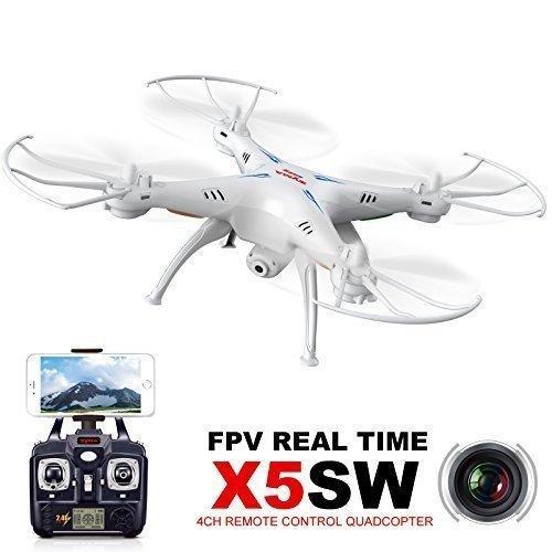 Drone Syma X5SW-1 Explorers avec camera wifi FPV Real-Time