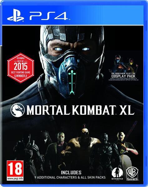 Mortal Kombat XL sur Xbox One et PS4