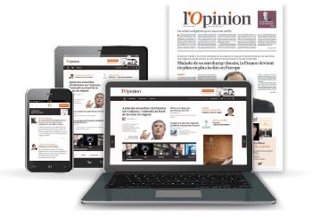 Abonnement gratuit de 2 semaines au quotidien L'opinion