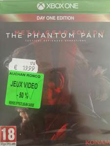 Metal Gear Solid V : The Phantom Pain - Edition Day One sur Xbox One