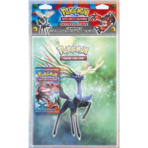 Pack de 2 portfolios A4 Pokémon + 2 boosters Pokémon XY en ligne et en magasin