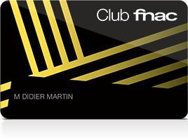 [Possesseurs Carte American Express] Carte adhérent club Fnac gratuite pendant 3 ans