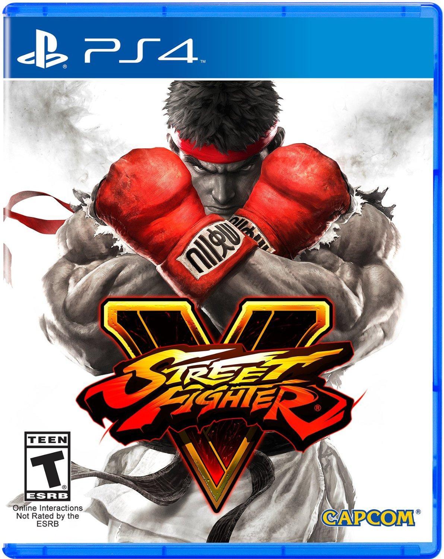 Street Fighter V sur PS4 - Frais de port et douane compris