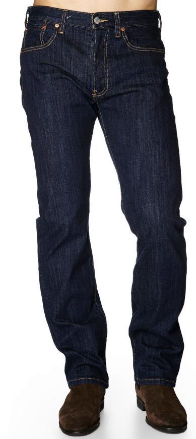 Sélection de Jeans Levi's 501 en promotion - Ex : Jean 501 Original Fit Blue rinse