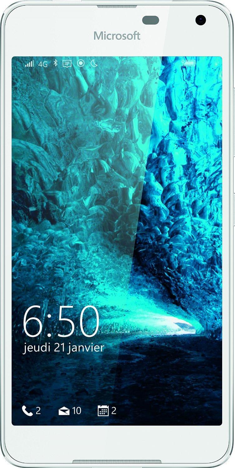 """Smartphone 5"""" Microsoft Lumia 650 Blanc - 4G, 16Go (Via ODR de 50€)"""