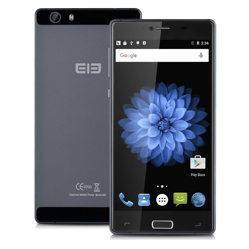 Smartphone 5.5'' Elephone M2 Gris - Full HD, Android 5.1, RAM 3 Go, ROM 32 Go