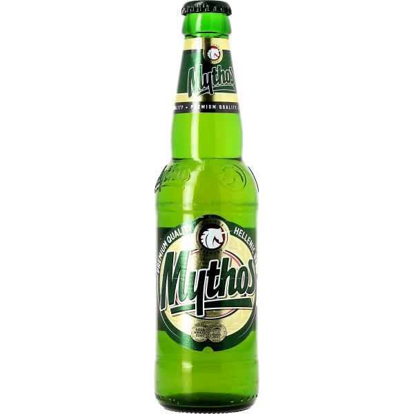 Bière Blonde Grecque Mythos - 33 cl