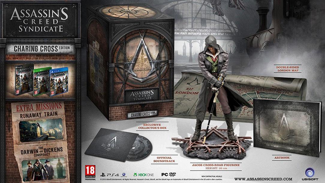 Assassin's Creed Syndicate - Charing Cross Edition sur PC à 44.99€ et sur PS4