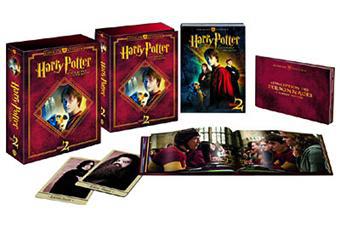 Coffret Blu-ray Harry Potter et la chambre des secrets Ultimate edition (Inclus Livre de 40 pages...)