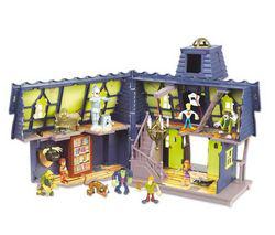 Playset Giochi Preziosi Scooby Doo Manoir mystérieux avec 2 figurines