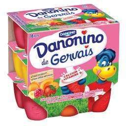 Lot de 18 pots danonino (via BDR)