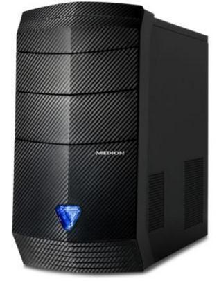 PC Gamer Medion Erazer P5362 (i5-6400, 8 Go Ram, 1 To HDD, 128 Go SSD, GTX 1070, Windows 10)