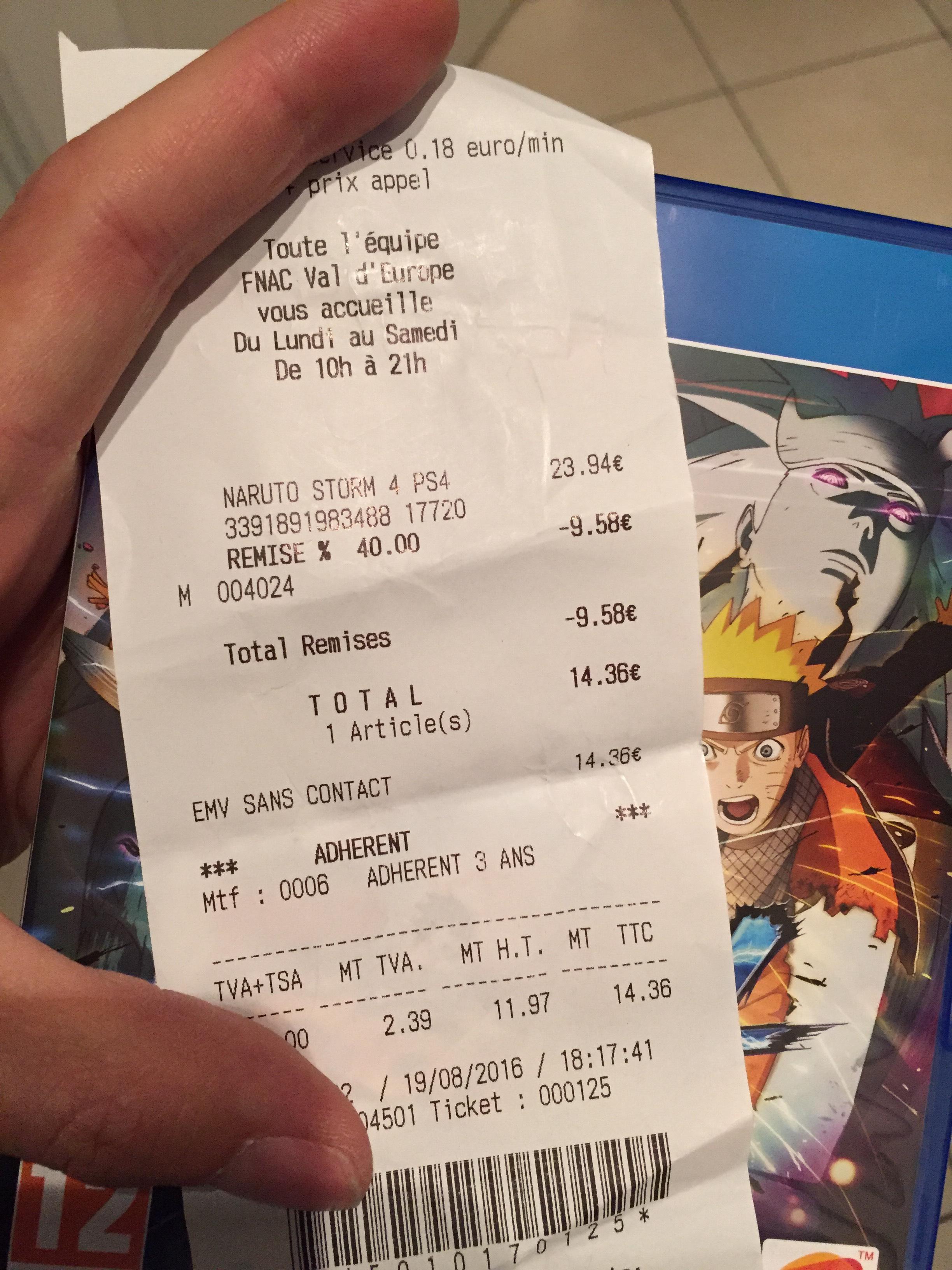 Naruto Ninja Storm 4 PS4 / Xbox One