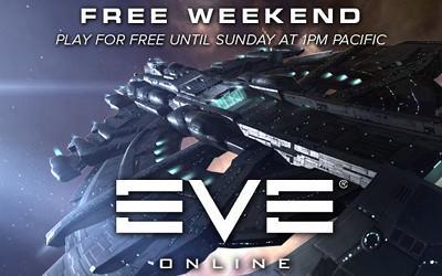 Eve Online Gratuit ce week-end sur PC (Dématérialisé)