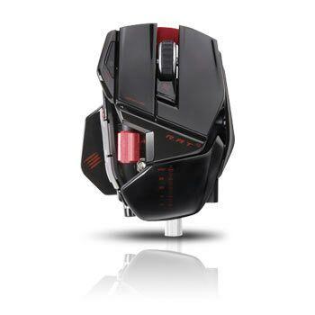 Souris Sans-fil Gamer Mad Catz R.A.T 9 Noir brillant - 6400dpi, 7 boutons