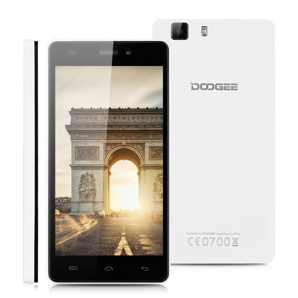 """Smartphone 5.0"""" Doogee X5 (MTK6580 1.3GHz, 1 Go RAM, 8 Go)"""