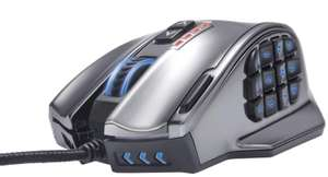 Souris filaire laser Gaming MMO UtechSmart Venus 50 (18 boutons)