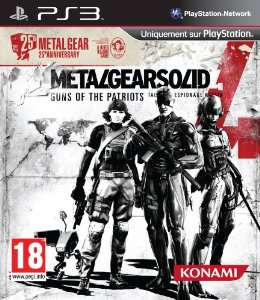 Metal Gear Solid 4 Guns of the Patriots - Edition 25e Anniversaire