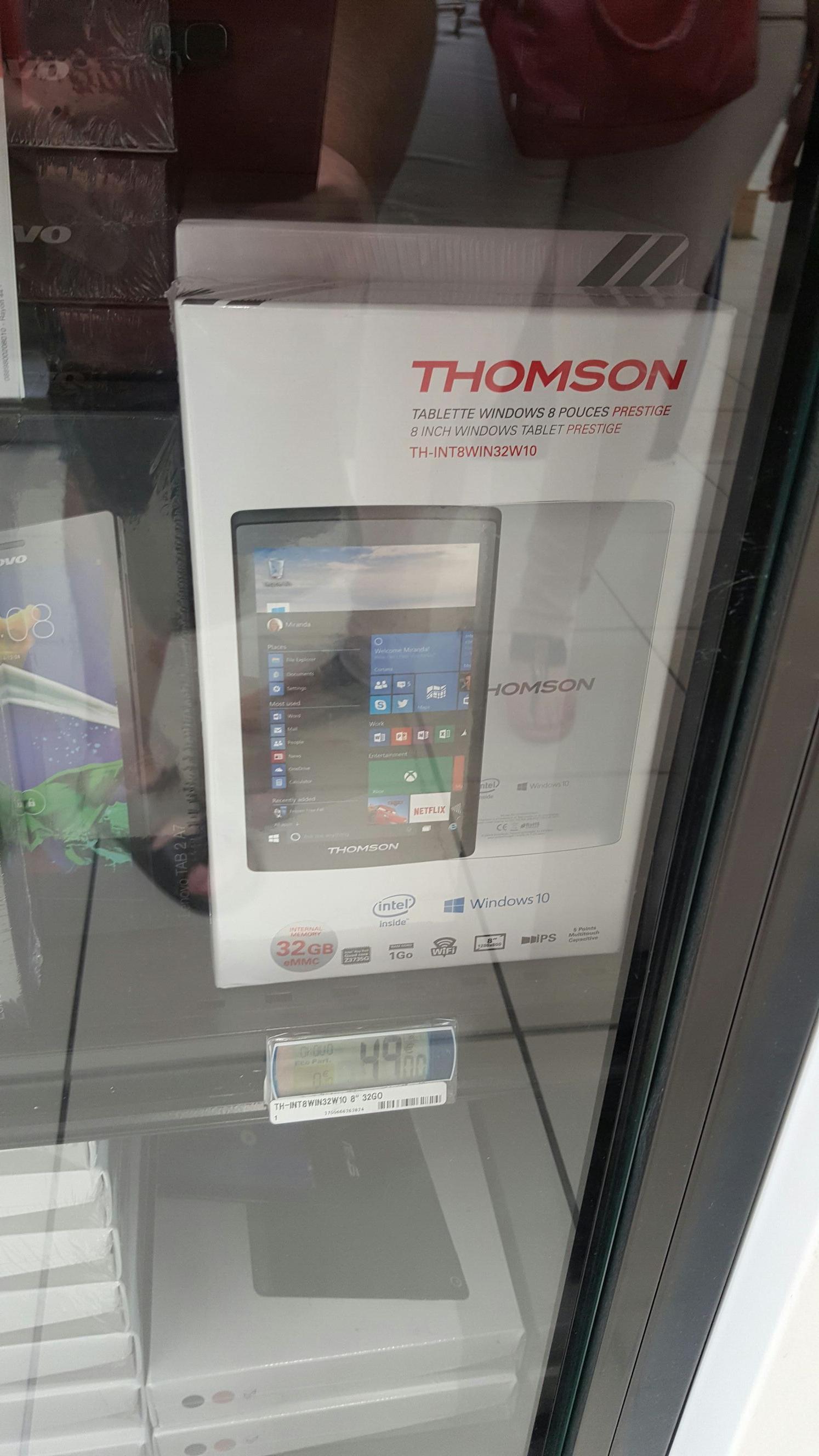 """Tablette 8"""" Thomson Prestige TH-INT8WIN32W10 32Go"""