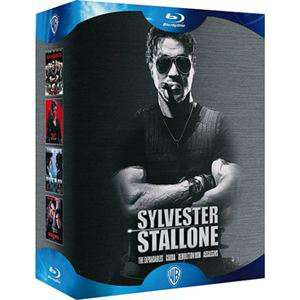 Coffret 4 Blu-Ray Sylvester Stallone