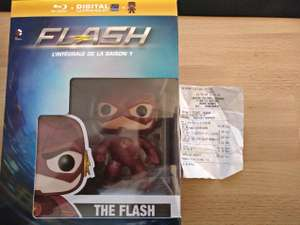 Coffret Blu-ray Saison 1 Flash + Figurine Funko Pop Flash