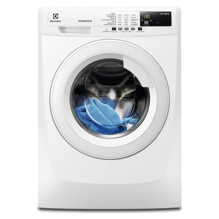 Lave-linge Electrolux EWF1472BS 7Kg + Jusqu'à 84€ en bon d'achat