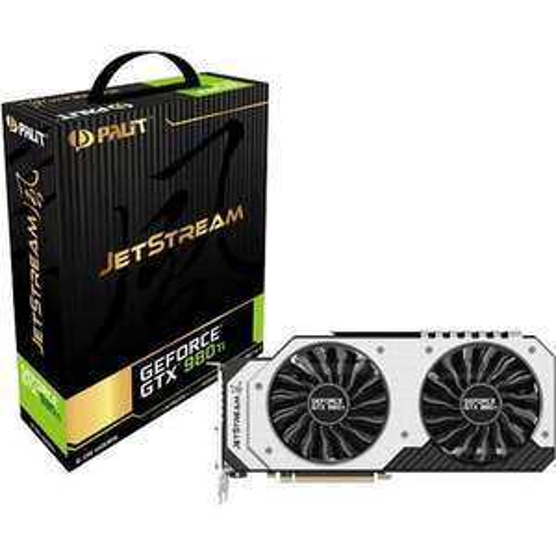 Carte graphique Palit GeForce-GTX-980 Ti JetStream - PCIe 3-0 x16 6Go